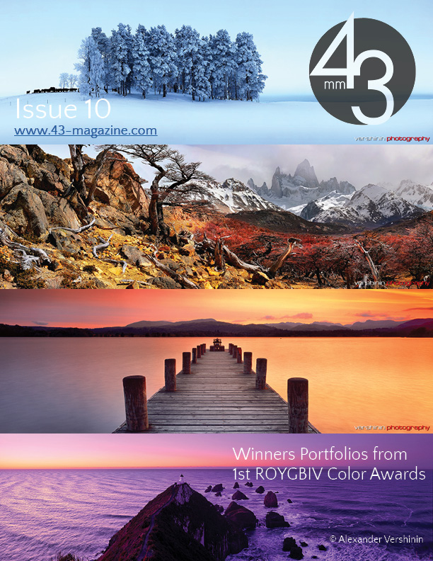 43mm Magazine Issue 10 - Winners Portfolio from 1st ROYGBIV Color Awards